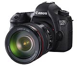 Canon EOS6D digital SLR. Photography courtesy Canon
