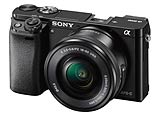 Sony alpha 6000 mirrorless digital camera. Photography courtesy Sony