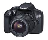 Canon EOS 1300D digital SLR camera. Photography courtesy Canon