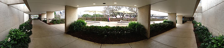 Brisbane's South Bank panorama shot with an iPhone 5