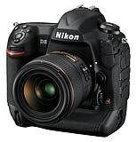 Nikon D5 professional digital SLR camera. Photograph courtesy Nikon