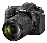 Nikon D7200 digital SLR camera. Image courtesy Nikon