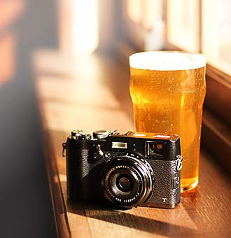 Craft beer and cameras