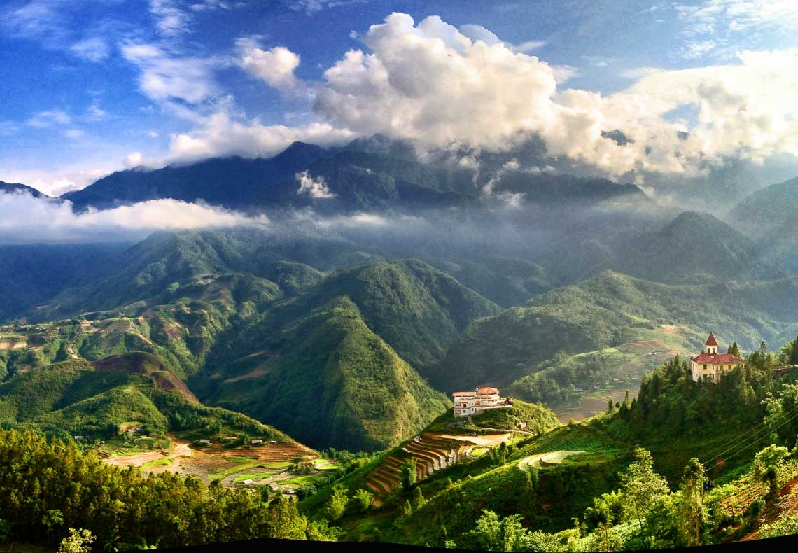 View from Sapa, Vietnam, taken with an iPhone